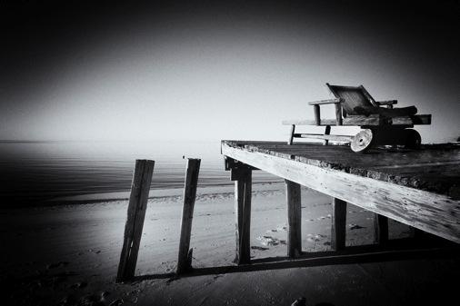 black and white beach photos. Black White Pinhole