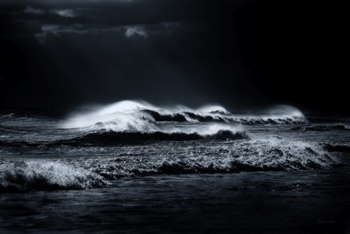Black and White Photo - Atlantic Ocean fine art print