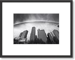 framed city black and white photo print available at dapixara.com