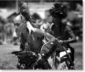 Native Americans. American pictures.