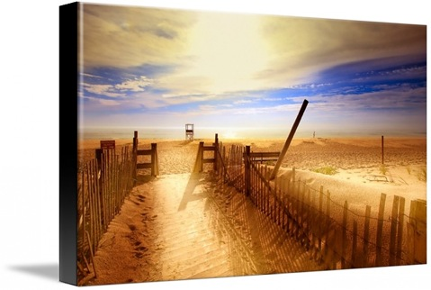 Nauset Beach, Early Morning. Canvas print
