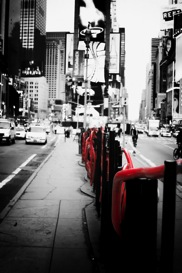 black and white photography - new york fine art poster print