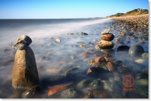 Pile of stones on ryder beach truro ma. Dapixara beach pictures.