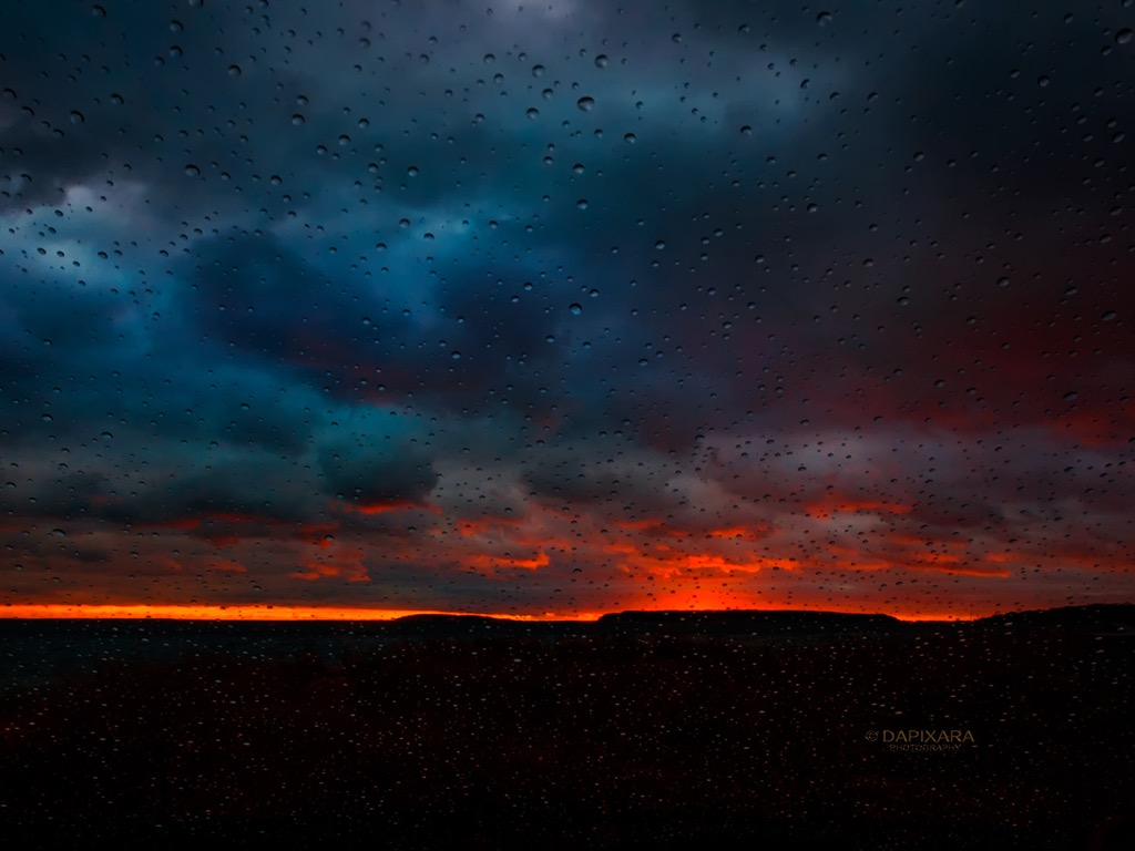 Light Rain and Dramatic Clouds at Sunset Today in Wellfleet: November 28, 2018 | Amazingly Beautiful Nature And Travel Photography Of Cape Cod National Seashore