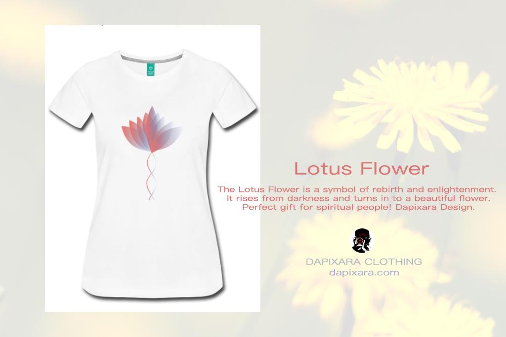 b578781514 Lotus Flower T Shirt | BLOG