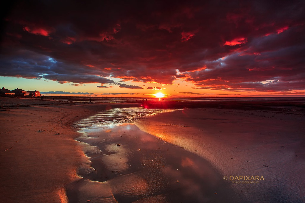 Strikingly Beautiful Sunset Clouds at Skaket Beach | Amazingly Beautiful Nature And Travel Photography Of Cape Cod National Seashore
