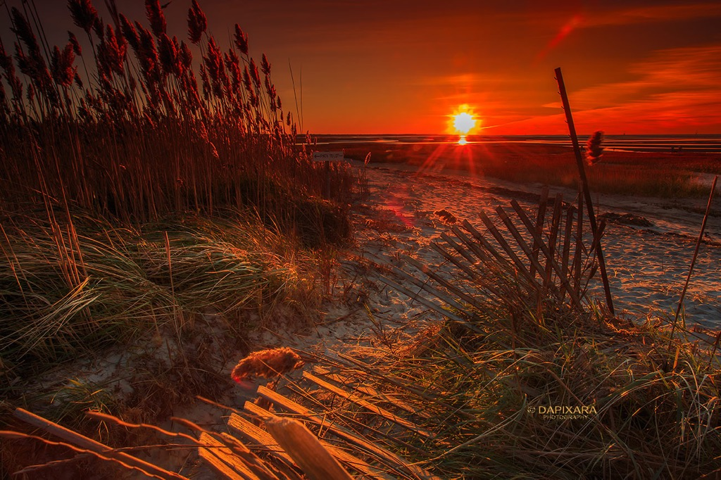 A Superb Sunset Tonight at Cape Cod Beaches | Amazingly Beautiful Nature And Travel Photography Of Cape Cod National Seashore
