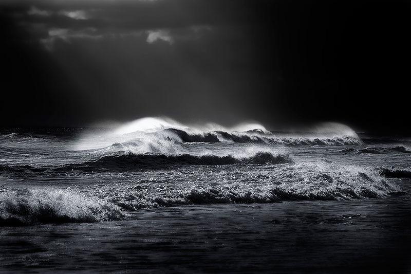 Black and White Beach Photos for Sale - Dapixara. Select ...