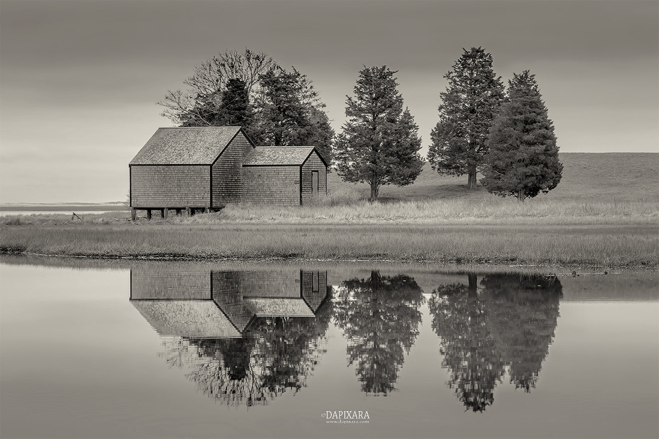 Cape cod reflections in black and white cape cod sunrise photograph cape cod sunrise and