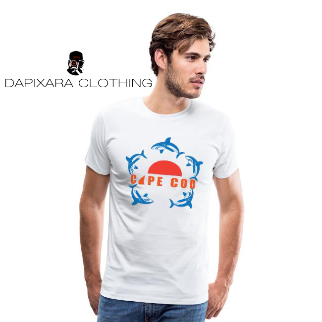 Cape Cod sharks clothing, men