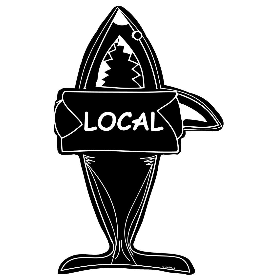 Huge shark off cape cod. Shop decal stickers. buy cape cod local shark stickers