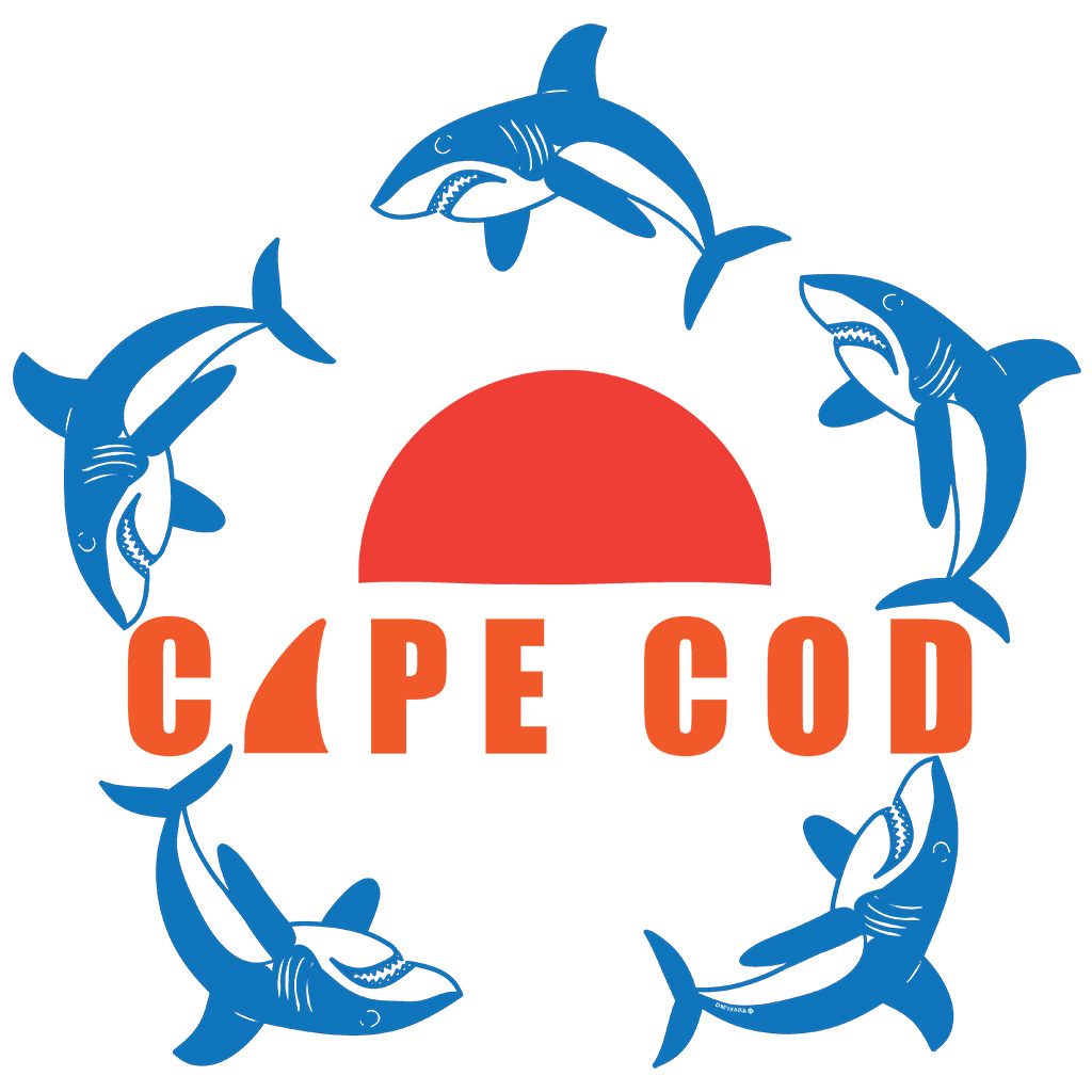 Recent Cape Cod shark sightings. Shop stickers decals